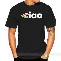 자전거 Cinelli Ciao T 셔츠 자전거 스포츠 남자 티셔츠 남성 브랜드 Teeshirt 남자 여름 코튼 티셔츠