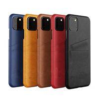 Luxus Wallet Card Pocket PU Leder Telefon Hüllen für iPhone 11 12 PRO MAX 12mini mit Kreditkartenhalter Stoßfest Schutzrückseite