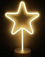 Star cycles Sign DIY Glass LED Neon Sign Flex Rope Light Indoor Outdoor Decoration RGB Voltage 110V-240V 17*14 inches