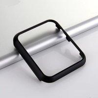 Renkli Sert Metal Kılıflar Apple İzle Için IWatch Serisi SE 6 5 4 3 2 Kapak Koruma Kılıf 42mm 38mm 40mm 44mm