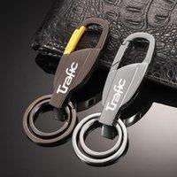Keychains Car Keychain Zinc Alloy Key Ring Holder For Renault Trafic Kangoo Twingo 2021 Megane 2 3 Clio 4 5 Captur