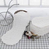 Réutilisable Baby Denapers Draps Inserts 1 Morceau 12 Couche Insérer 100% coton Lavable bébé Lavable Soins Diapes écologiques HWB7088