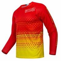 Set da corsa 2021 uomini manica lunga in downhill jersey mountain bike mtb shirt offroad dh moto sportswear abbigliamento motocross
