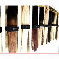 """Xcsunny 18 """"20"""" Ich tippe Haarverlängerungen 100g Pk Keratin Fusion Haarverlängerungen gerade 1g s I Tipp Virgin-Erweiterungen Haar"""