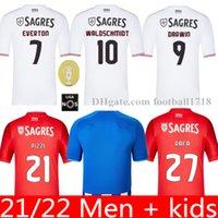 20 21 22 피자 벤피카 Soccr 저지 스포츠 CP 27 Rafa Jonas Jota Acuna Phellype 제 3 셔츠 Camiseta de Futebol 남자 키트 키트 유니폼 2021 2022