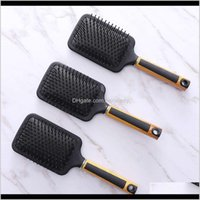 Brushes Care & Styling Tools Hair Products Drop Delivery 2021 Dafang Black Elastic Paint Air Bag Hairdressing Mas Water Transfer Printing Com