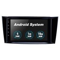 자동차 DVD 라디오 멀티미디어 비디오 플레이어 네비게이션 GPS 2001-2010 메르세데스 벤츠 E-Class W211 8 인치 최신 안드로이드 10 시스템 3G