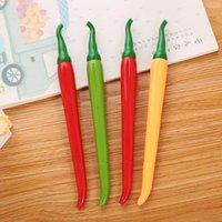 Gel Pens Ellen Brook 1 PCS Cute Cartoon Kawaii Chili Paprika Vegetables Pen Creative School Office Gift Supplies Stationery