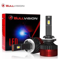 Faros de coche Bullvision F5 LED Kit de faro 25000lm CANBUS H7 H1 H4 H8 H8 H11 9005 9006 Turbo Lámpara D2S 9004 9012 HIR2 para Bombilla de niebla SA