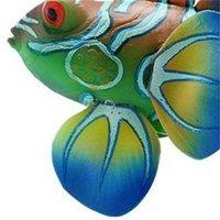 Silicone Aquarium decorazione della rana di pesce artificiale incandescente verde acuadio decorazione piuttosto carino micro ornamento per serbatoio 325 R2 Q2HV