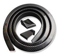 도매 품질 1.5m PVC 유니버셜 카 테일 스포일러 자동차 스타일링 액세서리 외관 자동차 부품
