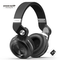 Bluedio T2Plus (فرامل الرماية) سماعات بلوتوث ستيريو لاسلكية 5.0 سماعة فوق سماعات الأذن