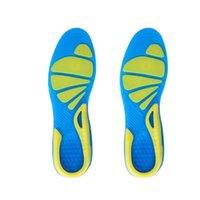 Schuhe Materialien Unisex Sport TPE Walking stabile Kissen rutschfeste Fußpflegeabsorption Laufeinsatz Militärschuh Pad orthopädische Inso