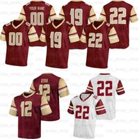 Özel Boston Koleji Futbol Formaları 5 Phil Jurkovec 84 Jake Burt 90 B.J. Raji 13 Anthony Brown 22 Doug Flutie 24 Pat Garwo III