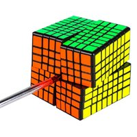Moyu mf8 8x8x8 cubo magico mofangjiaoshi mf8 cube 8layers 8x8 velocità puzzle cubi forma torsione torsione giocattoli educativi gioco