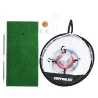 Golf Training Aids 1 Set Chipping Net -UP Aid Practice Pitching Cage For