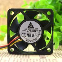 AFB0512VHD Ventilador de enfriamiento 50 * 50 * 20 mm 5020 5 cm DC12V 0.24A 7800RPM Rodamiento doble de bolas
