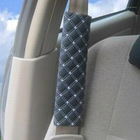 أجهزة كمبيوتر قابلة للتعديل سيارة سلامة مقعد حزام الكتف منصات ستوكات جلدية أحزمة الأمان غطاء وسادة تسخير وسادة أحزمة الملحقات 1