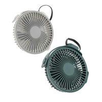 Klimaanlage für Home Wandventilator 4-Gänge Multifunktionale Desktop Kleine rotierende Wiederaufladbare elektrische Tischfans