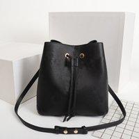 원래 높은 qaulity 어깨 가방 패션 핸드백 지갑 네오노 양동이 가방 여성 클래식 스타일 정품 가죽