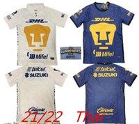 21 22 México Clube Unam Cougar Soccer Jersey 2021 2022 Edição Especial Malcorra Mora Iturbano Rodriguez Liga Mx Camisas de futebol