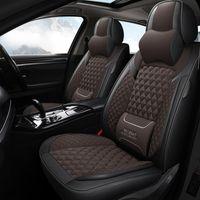 Lunda PU Cuir Cover Cover Set pour BMW E30 E34 X1X3 120i 220i 320i Universal Plein Intérieur Accessoires Protecteur Cylisme automatique