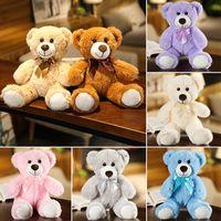 35cm Cute Teddy Bear Stuffed Animals Doll Soft Plush Toy Christmas Gift for Kids Pillow
