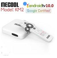 Mecool KM2 Netflix TV Box Android 10 Google Certified 2GB RAM 4K Dolby USB3.0 SPDIF BT4.2 Dual Wifi Prime Video