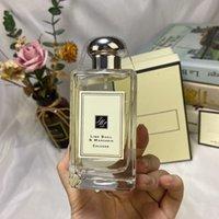En Yüksek Kalite Nötr Parfüm Koku Jo Malone Lime Basil Mandarin Parfum Köln Su Sprey Kare Şişe 100 ML EDP Hızlı Gemi