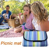 Outdoor Pads Portable Camping Ground Mat Folding Pad Lightweight Blanket Waterproof Mattress Foldable Beach For Lawn Game Picnic