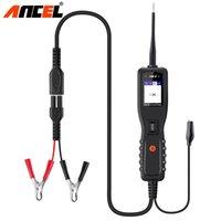 Ancel PB100 أدوات التشخيص المهنية 12 فولت 24 فولت دائرة اختبار المقاومة dc ac voltag اختبار النظام الكهربائي ماسحة للسيارة