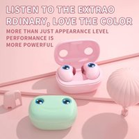 Mini E6 TWS Earphone Bluetooth 5.0 Microphone LED Digital Display Sports Touch Control Wireless Headsets Earbuds With Mic For Phone 20pcs DHL