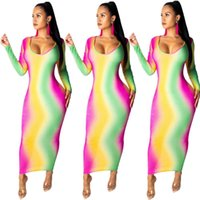 F8099 Farbe Mode Anzug Damenkleid