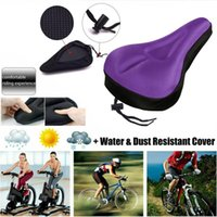 Bike Saddles Soft Bicycle Cycle Extra Comfort Gel Pad Cushion Cover For Saddle Seat Accessories Drop