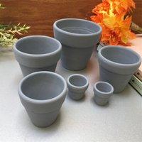 Mini terracota olla arcilla cerámica cerámica plantador de cerámica cactus flor suculenta macetas gran jardín pot4cps jno3 qkxv 1486 t2