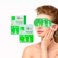 Cold therapy eye mask home eye spa non medicated mixed natural herbs for cooling effect 6-8times reusable