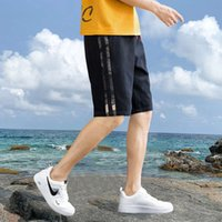 shorts Camouflage shorts men's summer wear trend 5-point beach pants work clothes casual breeches loose sports