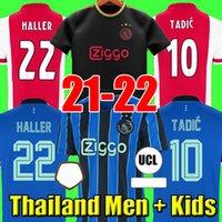 HALLER 21 22 AJAX camiseta de fútbol de amsterdam 2021 2022 TADIC KLAASSEN TRAORE PROMES NERES CRUYFF hombres kit de niños camiseta de fútbol uniformes 50 °