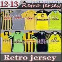 Borussia Retro Dortmund Soccer Jersey 1995 96 97 98 99 2000 01 02 Lewandowski Reus Metzelder Dede Moller Amoroso Rosicky Bobic Classic Football Shirt de football