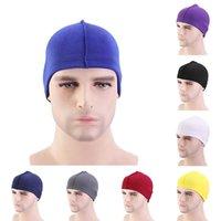 Erkek Durags Dalga Dome Cap Bonnet Peruk Yapma Spandex Elastik Streç Saç Kapak Şapka Kadınlar Için Hood Baz Peruk Şapka Baotou Cap