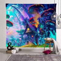 Tapestry 매달려있는 환각 숲 태피스 트리 벽 거실에 대 한 테 태피스 트리 마법의 숲 태피스 트리