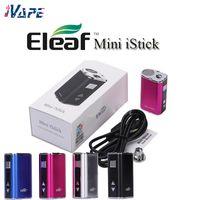 Mini Istick Mod Kit 1050mAh Bateria Bateria 10W Max Saída Variável Variável Tensão 4 Cores com cabo USB Cabo Ego Conector Kangvape Th420
