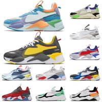 Alta calidad 2021 RS x Runing Sports Shoes Sports Mujeres Transformers Motorsport Blanco Gris Toys Irish Green RS-X Trainers Zapatillas al aire libre 36-45