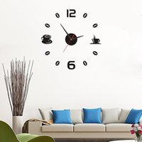 Amazon's -selling Product Creative Wall Clock Diy Ackle Watch Decorates The Home Sticker Clocks