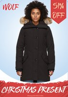 OP inverno para baixo jackets hoodie real titular de pele de lobo feminino jaqueta zipper à prova de vento e impermeável casaco quente parka ao ar livre quente