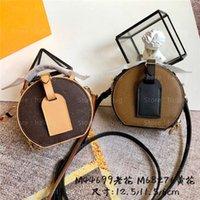 Mini Boite Chapeau Designer Bolsas Cross Body Bag Mono Reverse Gram Classic Nome Tag Sacos Pequenos M44699 M68276