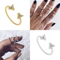 Cluster Rings CANNER 2021 925 Sterling Silver For Women Girls Anillos Mujer Couple Pierscionki Wedding Sieraden