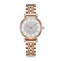 Wristwatches Women Watch Waterproof Rose Gold Loyal Bracelet Woman Quartz Full Diamonds Ladies Clock Female Drop