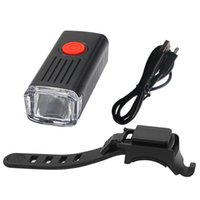 Bike Lights 300 Lumen Light USB Rechargeable Bicycle Front Lamp Headlight Waterproof Cycling LED Lantern