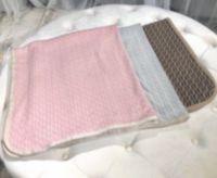 NOUVEAU NOUVEAU Couverture Couverture Couverture Soft 100% Coton Enfants Girls Enfant Hiver Couverture d'hiver 100x100cm